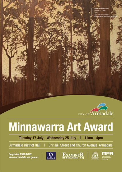 Minnawarra Art Award Poster 2012