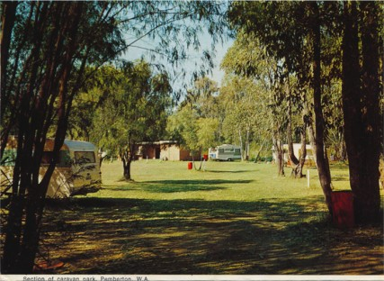 Kingdom of the Karri (Please don't tuck me in until I'm yours) Section of caravan park