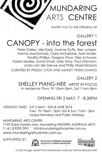 Canopy exhibition details