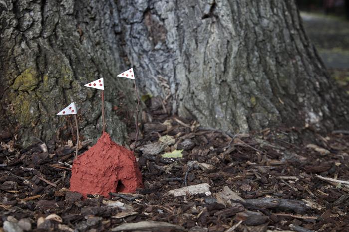 Termite Embassy, Fitzroy Gardens