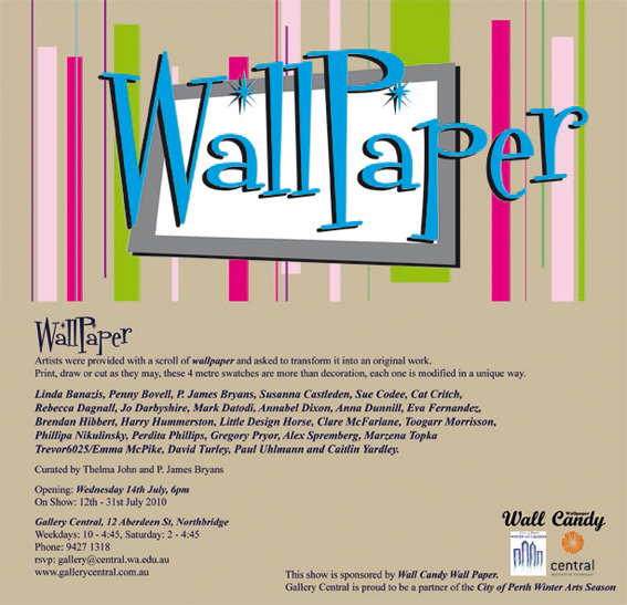 wallpaper show -- what to do with 52 cm x 392 cm