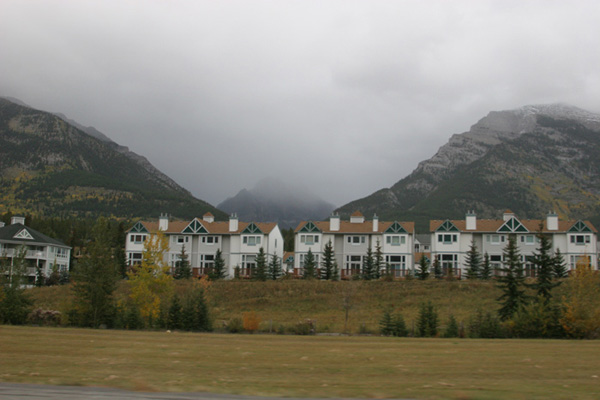 time share apartments at Canmore