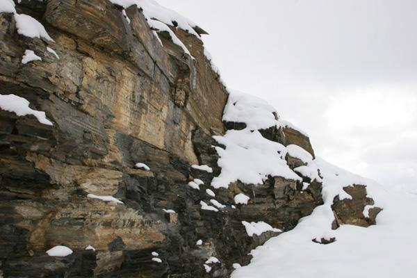 quarry walls