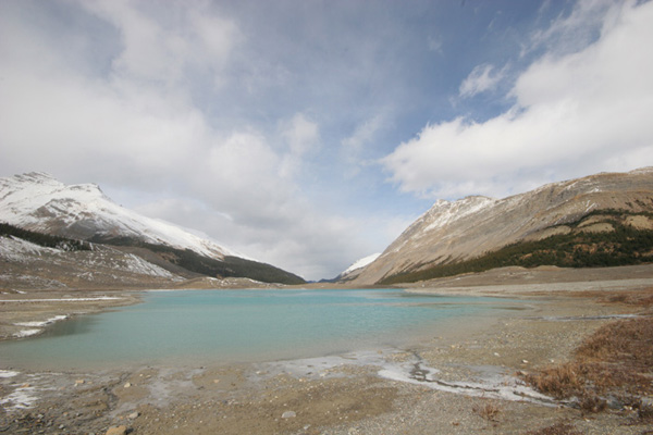 lake to freeze